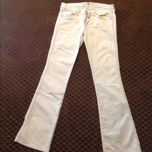 Light blue 7 for all mankind jeans, A pocket